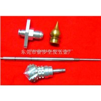 Custom Auto lathe machining complex nuts parts,can small orders