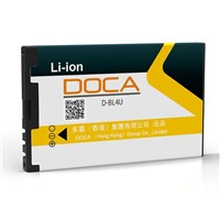 DOCA BL4U 3.7V 1000mAh Mobile phone battery for Nokia E66