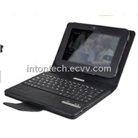 Detachable  Bluetooth keyboard folio case for Kindle fire HD 7""