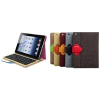 Detachable  Bluetooth keyboard folio case for ipad mini