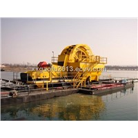 Dewatering screen for sand
