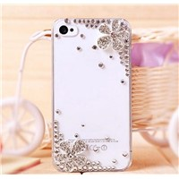 Diamond shell for iphone 4/4 s mobile phone shell