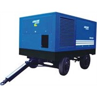 Diesel Power Portable Screw Air Compressor