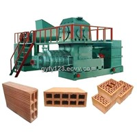 Double Stage Vacuum Brick Extruder
