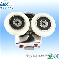 Double alloy shower rollers for shower sliding door roller wheel 688RS