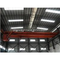 Double girder China EOT crane with winch trolley
