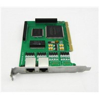 Dual Span Asteris E1 PCI Card , Support PRI R2 SS7