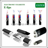 Dual clearomizer e-lips E-cigarette