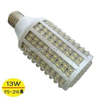 E27 13W 200-230V 216 leds 1050LM Cold White Corn Light Bulb LED Bulb Lamp led lighting