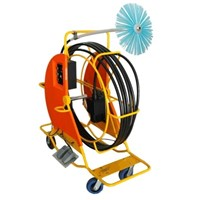 Electrical Flexible Shaft Cleaning Machine