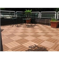 FSC certification wpc kitchen/terrace/balcony DIY tile (FYD300-300D)