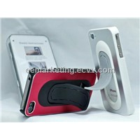 Factory Wholesales Manganese Steel Bracket Mobile Phone Case with Stand Car Mobile Holder