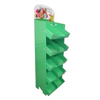 Shopping Bags Floor Display Stand