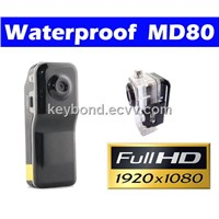 Full HD 1080P Waterproof Mini DV Action camera MD80