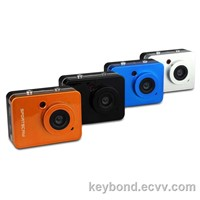 Full HD 2.4 Inch Touch Screen Waterproof Sport Camera with Remote Control