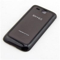 GSM mobile phone back battery cover housing with IML surface