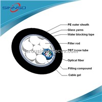 GYFTY 8 cores aerial outer door telecommunication optical fiber cable