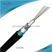GYXTS Optical Fiber Cable Central tube type Outdoor aerial and duct communication optic cable