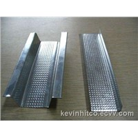 Galvanized steel drywall partition furring channel