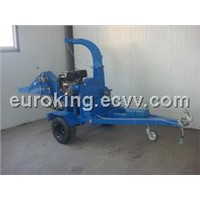 Gasoline Wood Chipper