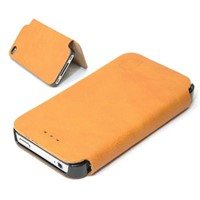 Genuine leather case for iphone 4/4 s mobile phone holster
