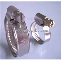 Germany style stainless steel hose clamp