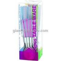 Gift Box For Plastic Handle Cutlery Set NEW