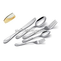 Gold-Plating Stainless Steel Cutlery