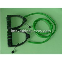 Green Latex Resistance Tube in D Handles