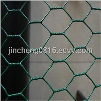 Green PVC Coated Hexgonal Wire Netting (Width of 0.5m-2.0m)