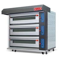 Guangzhou Sunmat High Quality King Electric Deck Oven(3 decks)