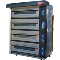 Guangzhou Sunmat King Series Deck Ovens(4 decks)/New