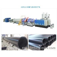 HDPE Large Dia. Water/Gas Supply Pipe Production Line