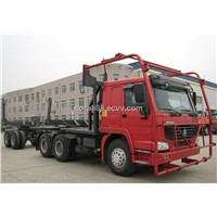 supply/ China brand new/HOWO LOG CARRIER TRUCK/selling for esp. rainforest area