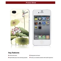 HQ PC hard case with printing for apple iphone 5