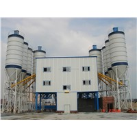 HZS120 Stationary Concrete Mixing Plant