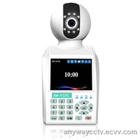 H.264 CMOS P2P Video phone IP network wireless 0.3 megapixel surveilllance camera