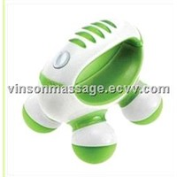 Hand Held Mini Massager with Hand Grip, Battery Operated (Colors May Vary)