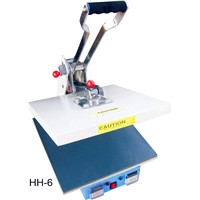 High Pressure Printer - Print Flat Substrates (Video) - Large Format- Textile Heat Press Machine- QA