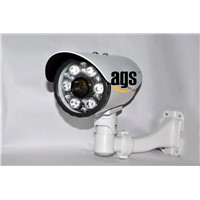 High resolution PAL/NTSC 0 to 80m IR distance CCD or CMOS waterproof CCTV Camera with OSD