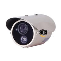 High resolution Sony Sharp CCD or CMOS 0 to 40m IR distance waterproof CCTV Camera with OSD