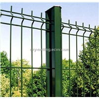 PVC Coated landscape garden Welded Mesh Border Fence