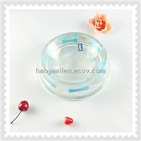 Hot Sales!Stylish Clear Round Acrylic Cat Bowl for Gifts