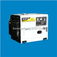 Hot-Sale Mobile 5kw Diesel Silent Generator