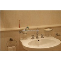 Hotel Bathroom Artificial Stone Vanity Tops With Basins