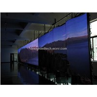 Indoor RGB SMD flexible led video screens