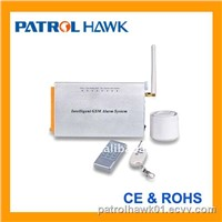 Industrial alarm system with the purpose of ATM protection  and home protection (PH-ATM)
