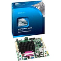 Intel Original Mini-ITX Board D525MWV, DDR3 4GB, 8USB, 1PCIE mini card, VGA, LVDS.