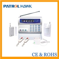 LCD & Keypad GSM security alarm systems for house/office