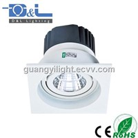 LED COB Downlight Ceiling Square 10W with reflector CE ROHS
